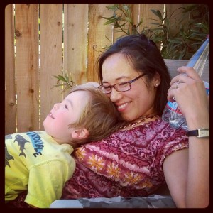 Holistic Living with Kristy, Mother and Son