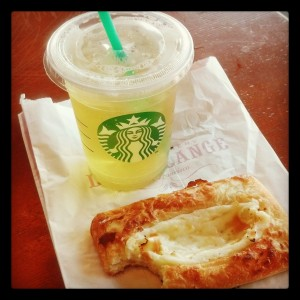 Starbucks Splurge, Holistic Living with Kristy