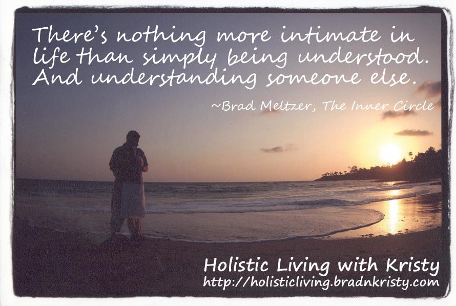 Intimate - Being Understood