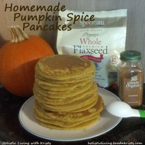 Pumpkin Pancakes, Holistic Living with Kristy